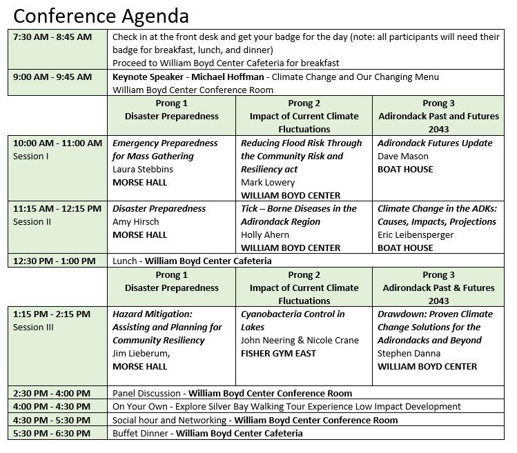 Conference Agenda 2